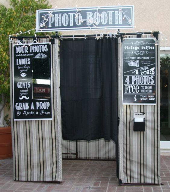 Foto Booth pentru petreceri haioase
