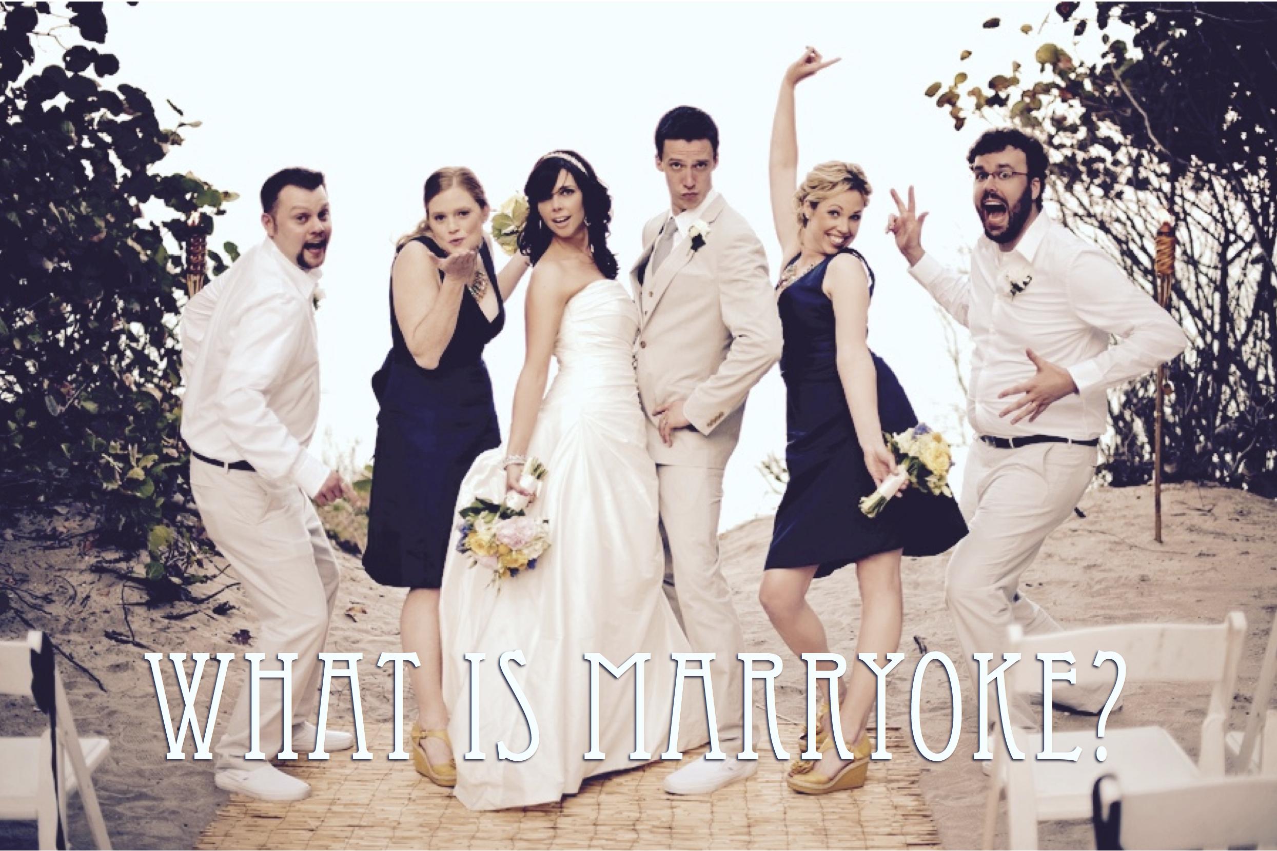 Ce spui de un marryoke la nunta ta?