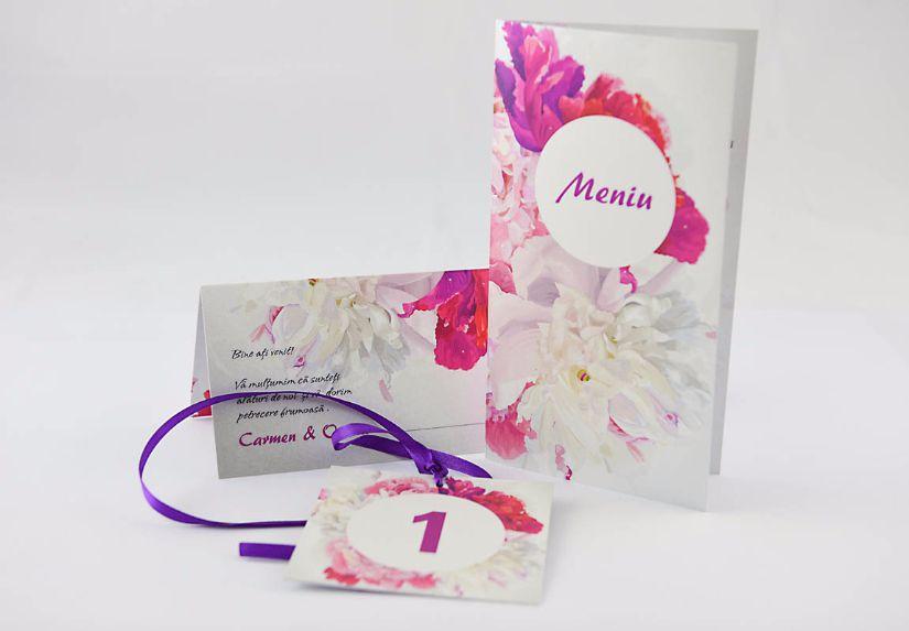 Set floral pentru o nuntă ca-n povești