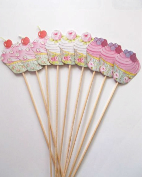 Props cupcake candy bar set 9 buc