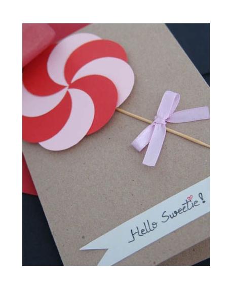 Felicitare Valentine / Dragobete CANDY