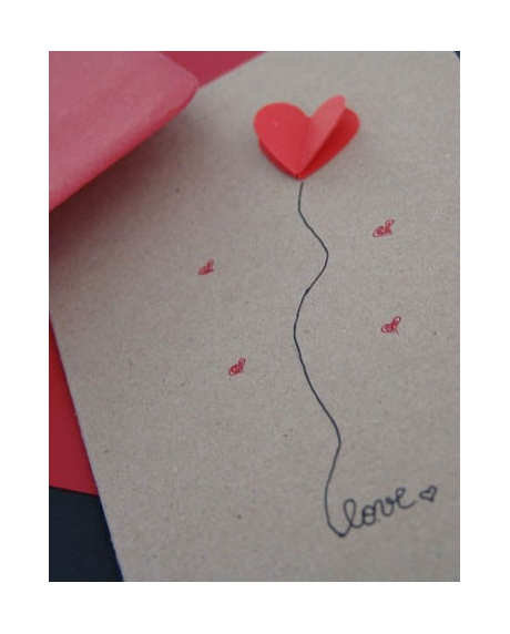 Felicitare Valentine / Dragobete LOVE