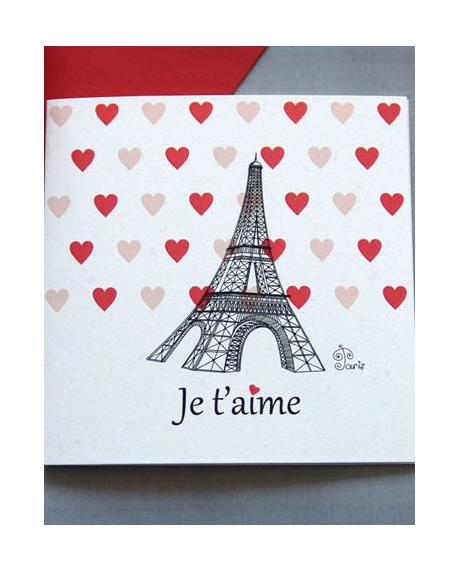 Felicitare Valentine / Dragobete PARIS 0