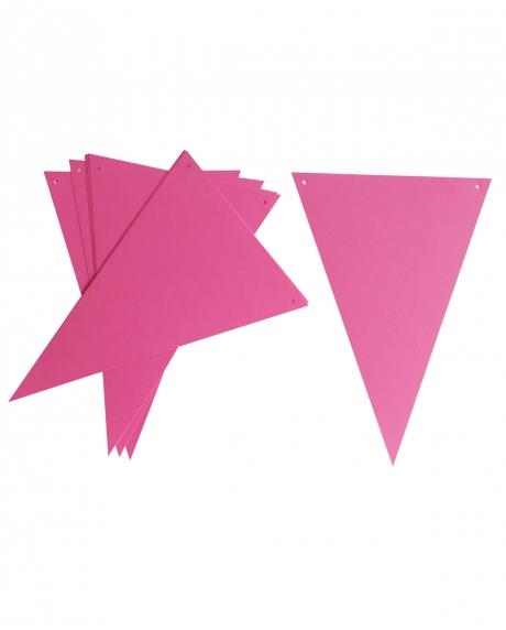 Ghirlanda stegulete roz ciclam
