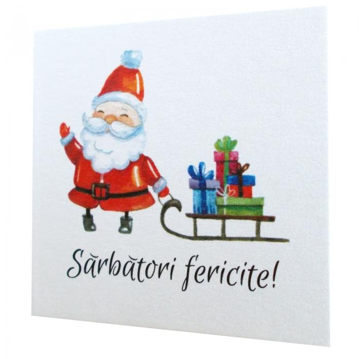 Minifelicitari Craciun Santa 3
