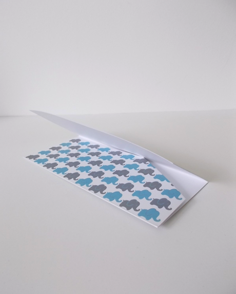 """PLACE CARD BOTEZ """"ELEFANTELUL CURIOS"""""""