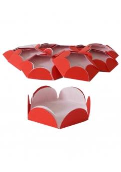 Chese rosii cupcake candy bar set 14 buc