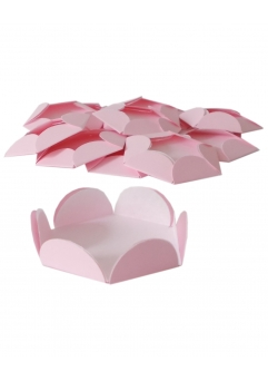 Chese roz pastel cupcake candy bar set 14 buc
