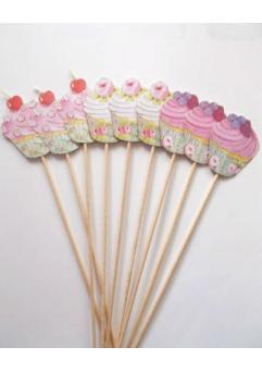 Props cupcake candy bar set 9 buc