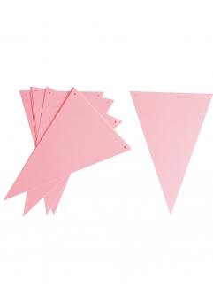 Ghirlanda stegulete roz pastel